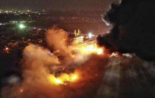 鹽城化工廠爆炸事故已致78人遇難!別和風險比僥幸!